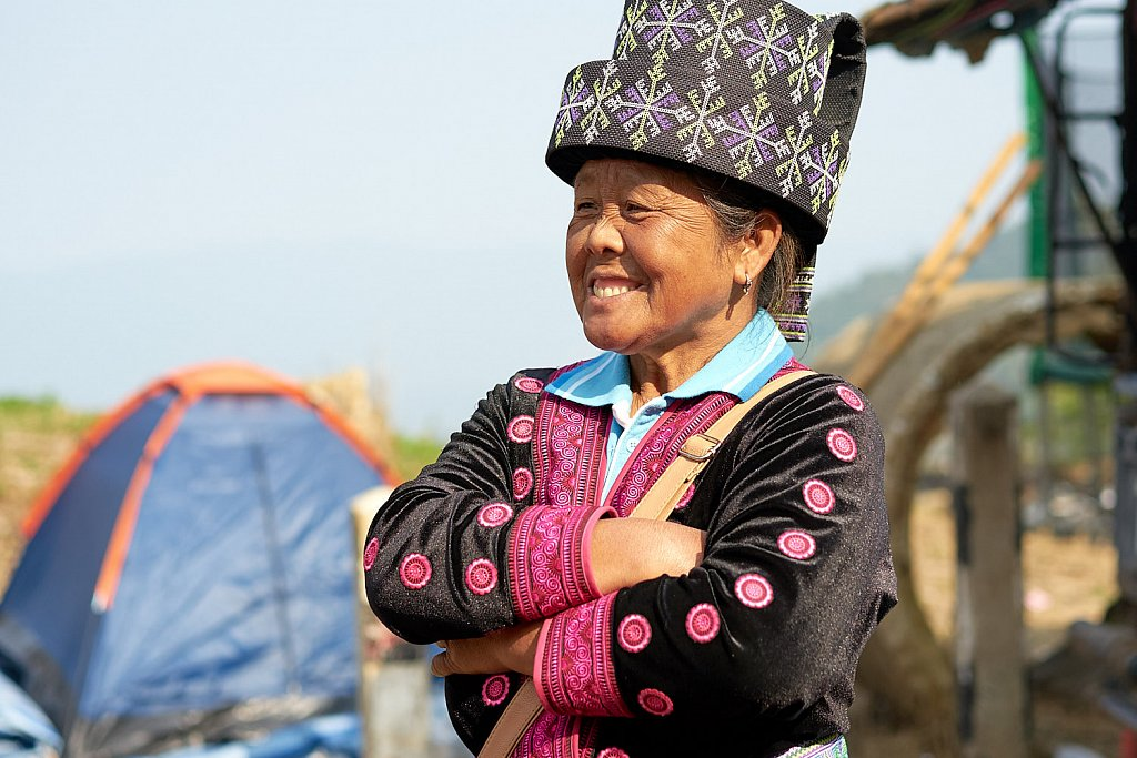 The queen of Phu Chi Fa