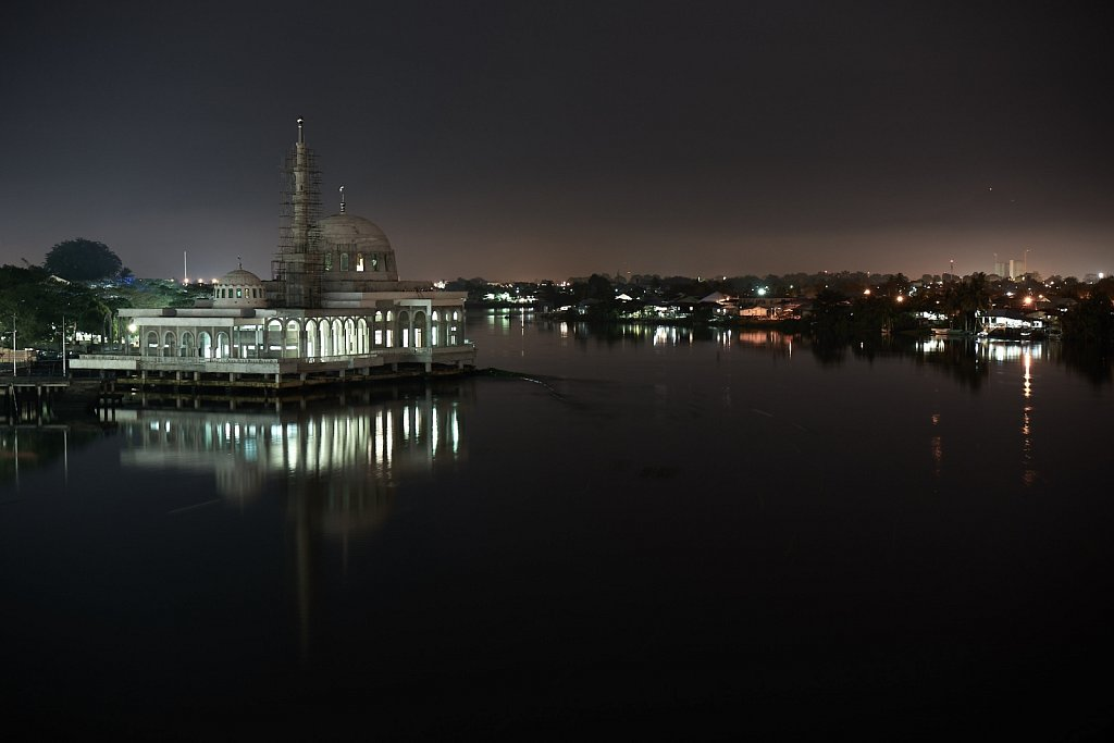 Mosque at the river