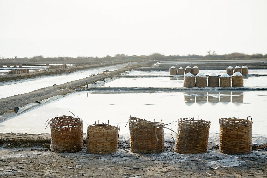 Salt production in Central Jawa